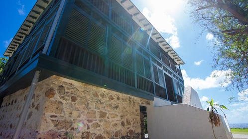 building in the sun at the Cayman Islands