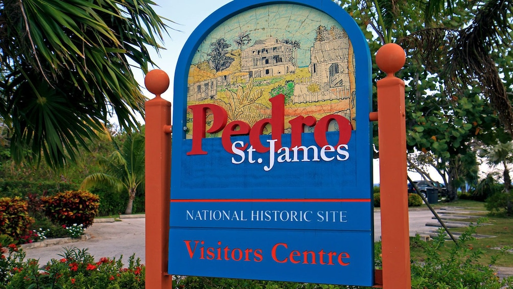 visiting a national historic site at the Cayman Islands