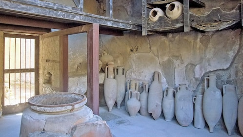 historic artifacts in Pompeii