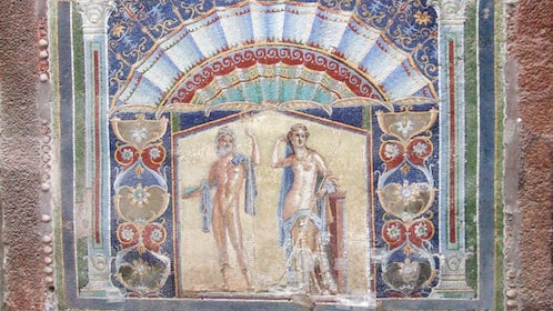 tiled artwork from Pompeii