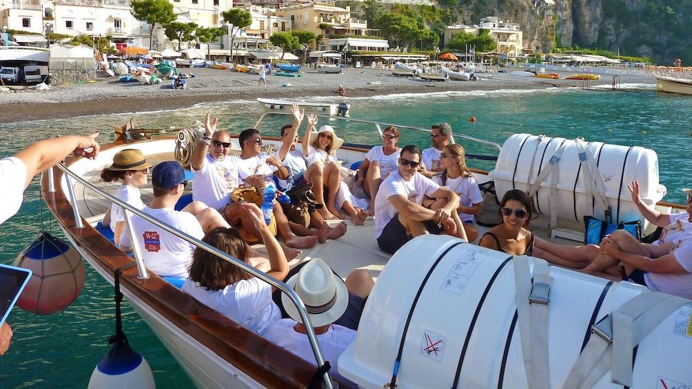 Mini Cruise Amalfi Coast And Positano  From Amalfi & Maiori