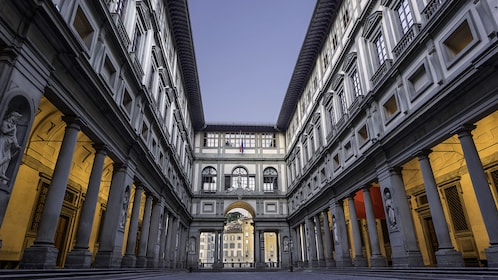The Uffizi Gallery Museum of Florence, Italy