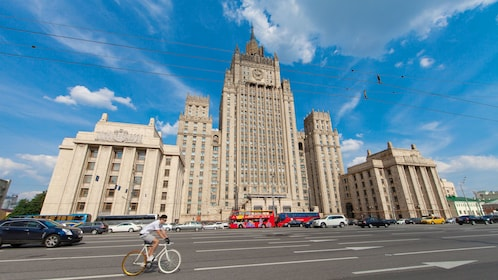 Street view of Moscow