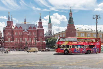 Moscow Hop-On Hop-Off Bus Tour