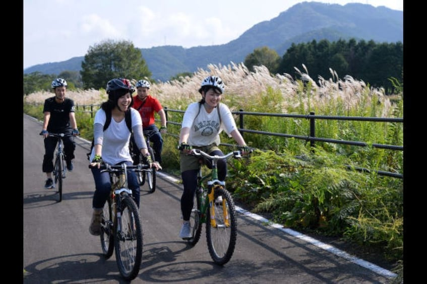 Show item 1 of 3. Ride the Hiruzen Highland Cycling Course on a Guided Tour