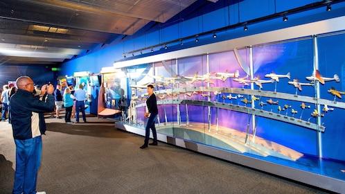 Boeing field display