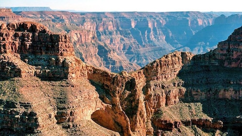 the rocky terrain of the Grand Canyon