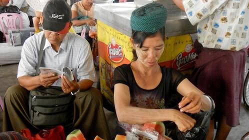 Locals in Myanmar