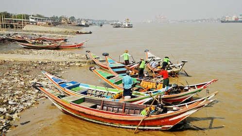 Boats in Myanmar