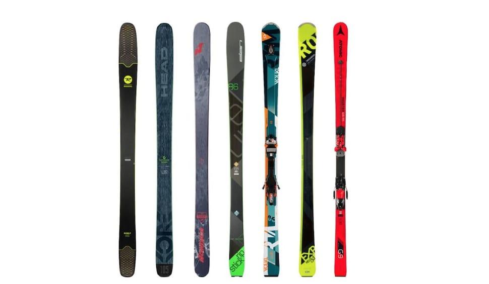 Show item 1 of 7. High-Performance Ski Rental in Whistler