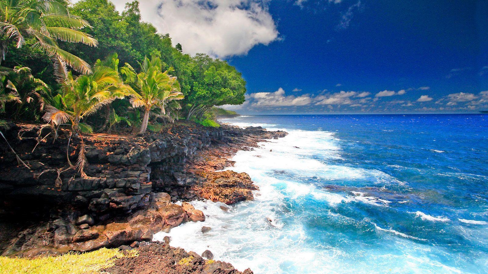 Private Tour of Tropical Coastal Puna with Hot Pond Swim