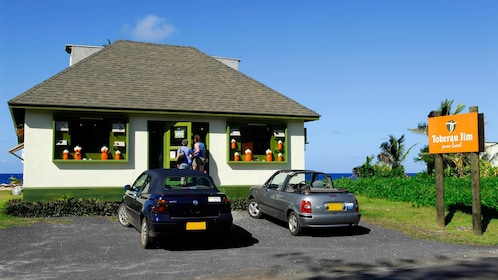 Tokerau Jim on the Cook Islands
