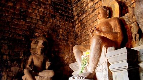 Statues in Borobudur