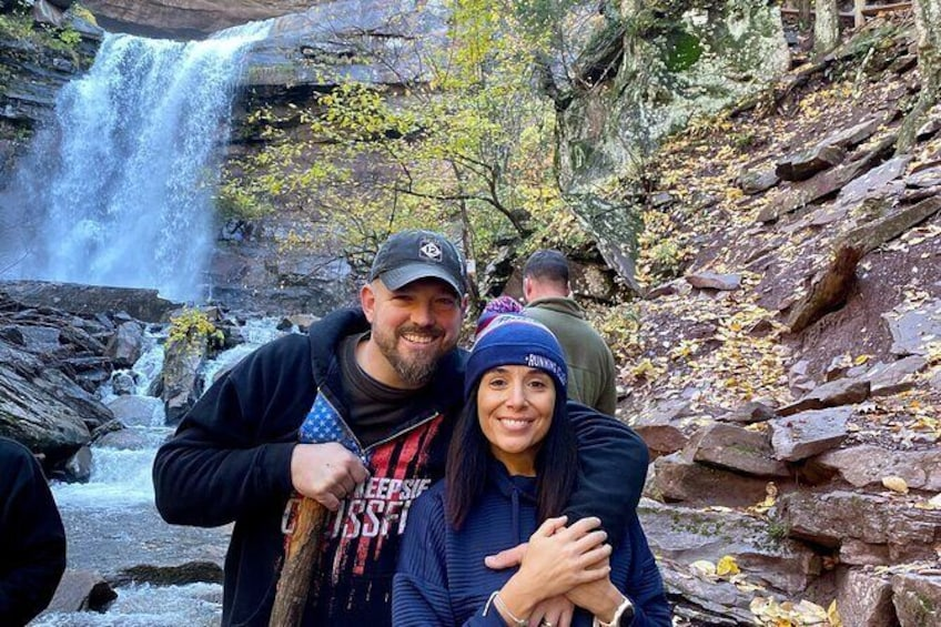 Show item 5 of 13. 2-Day Zip Lining and Waterfall Hike Trip in Catskills Mountain, NY
