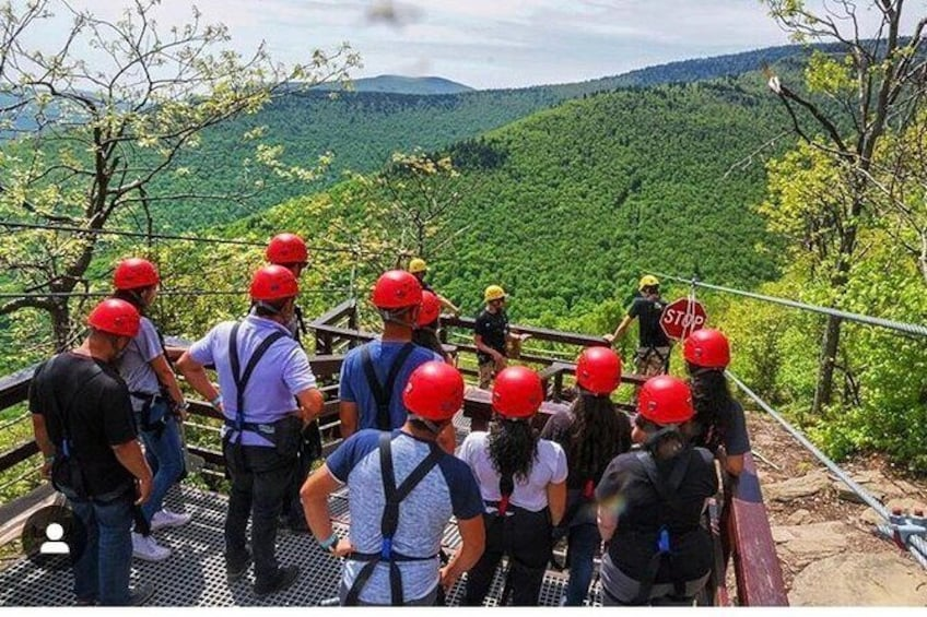 Show item 4 of 13. 2-Day Zip Lining and Waterfall Hike Trip in Catskills Mountain, NY