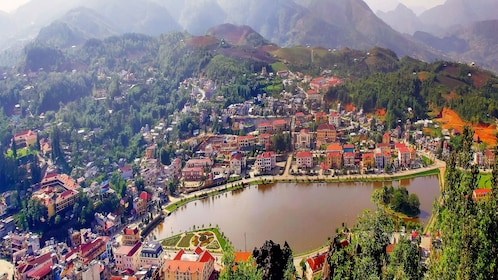 Day view of Sapa