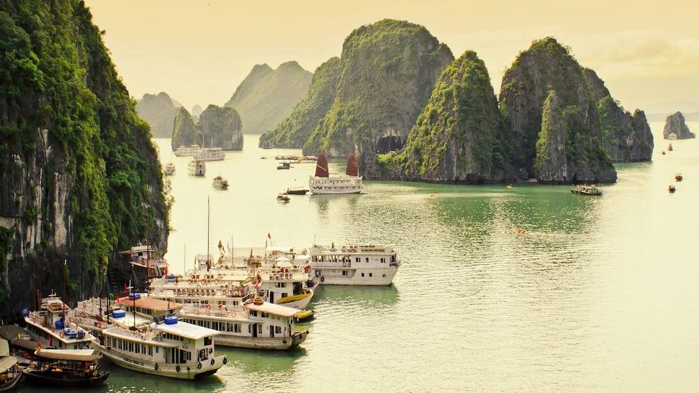 Show item 1 of 5. Beautiful panoramic view of Ha Long Bay in Vietnam