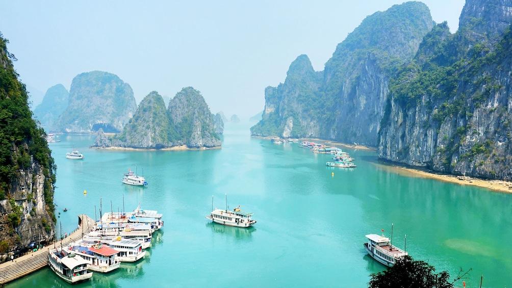 Show item 5 of 5. Breathtaking view of Ha Long Bay in Vietnam