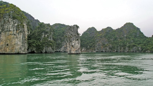 tall rocks and cliffs in Hanoi