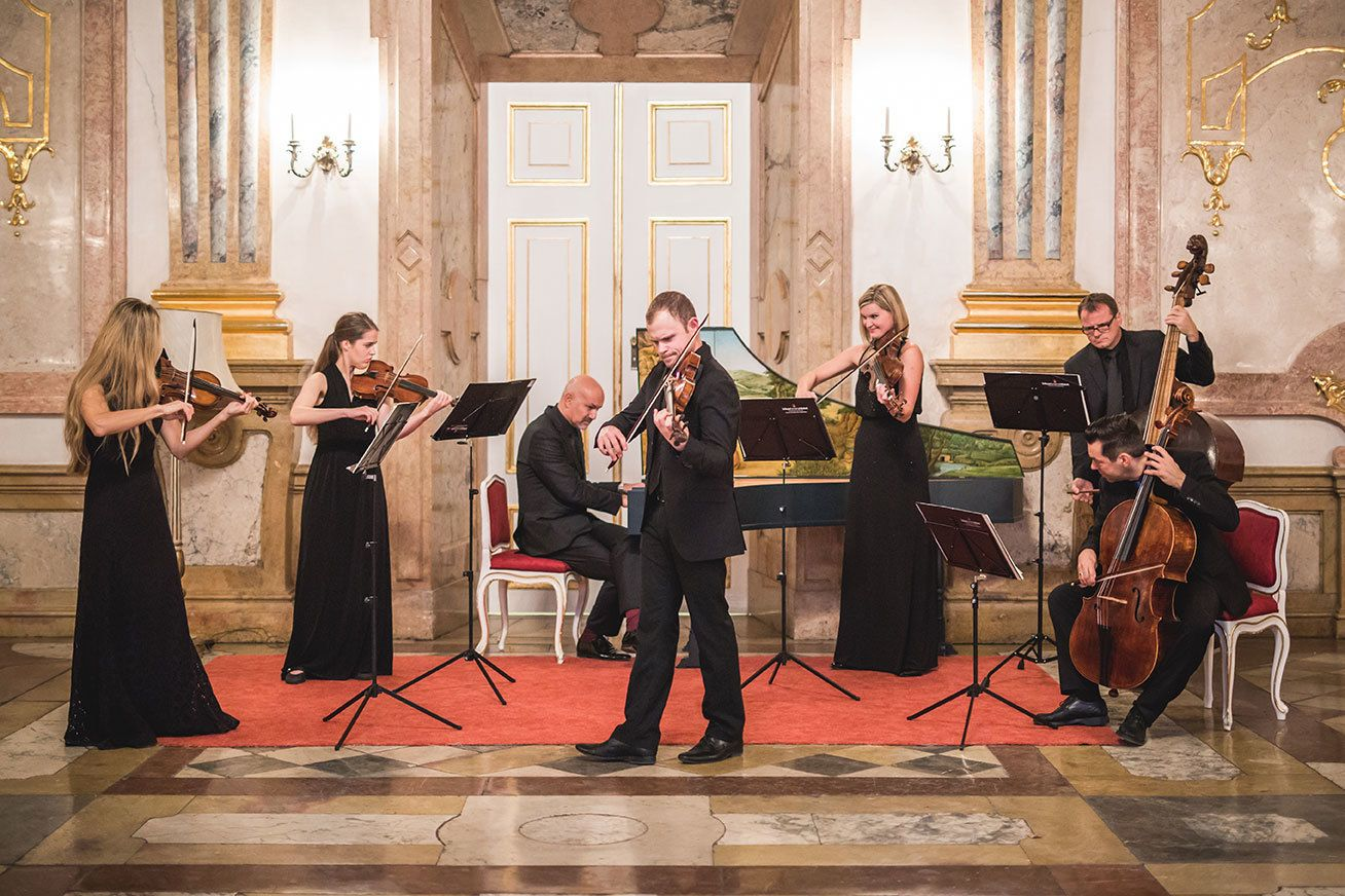 Konzert mit klassischer Musik im Marmorsaal des Schlosses Mirabell