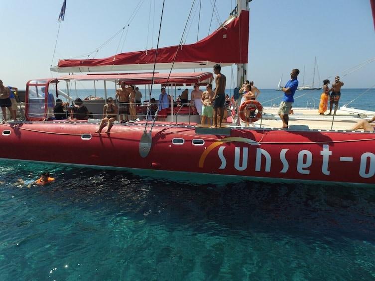 Show item 9 of 9. Santorini Red Morning Cruise