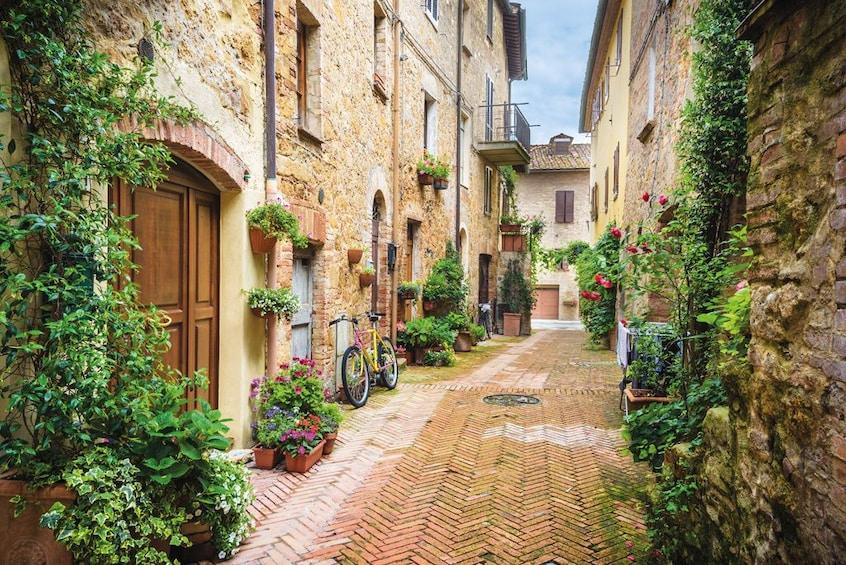 Show item 1 of 10. Montalcino, Pienza & Montepulciano Wine & Food Tour