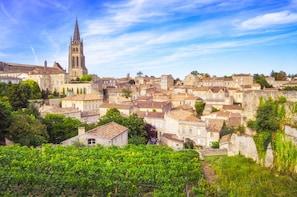 Grand Cru Château und Saint Émilion ab Bordeaux