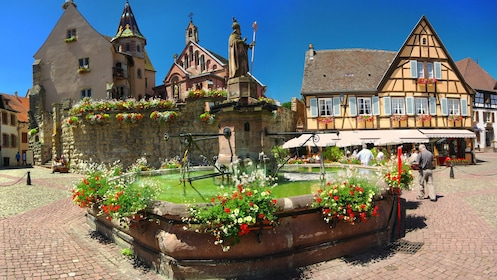Eguisheim museum in Alasce, France