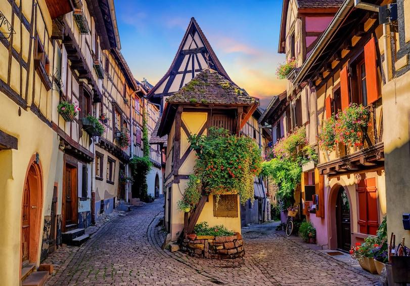 Show item 1 of 5. Pearls of Alsace Sightseeing Full-Day Tour From Strasbourg