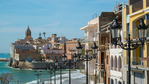 Seaside town in Sitges