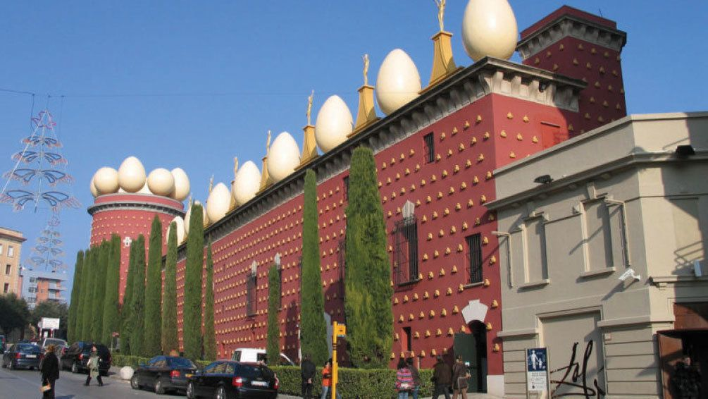 The Dalí Theatre and Museum