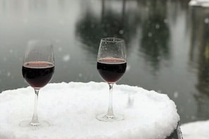 Private SilverStar Winter Wine Tour in Lake Country