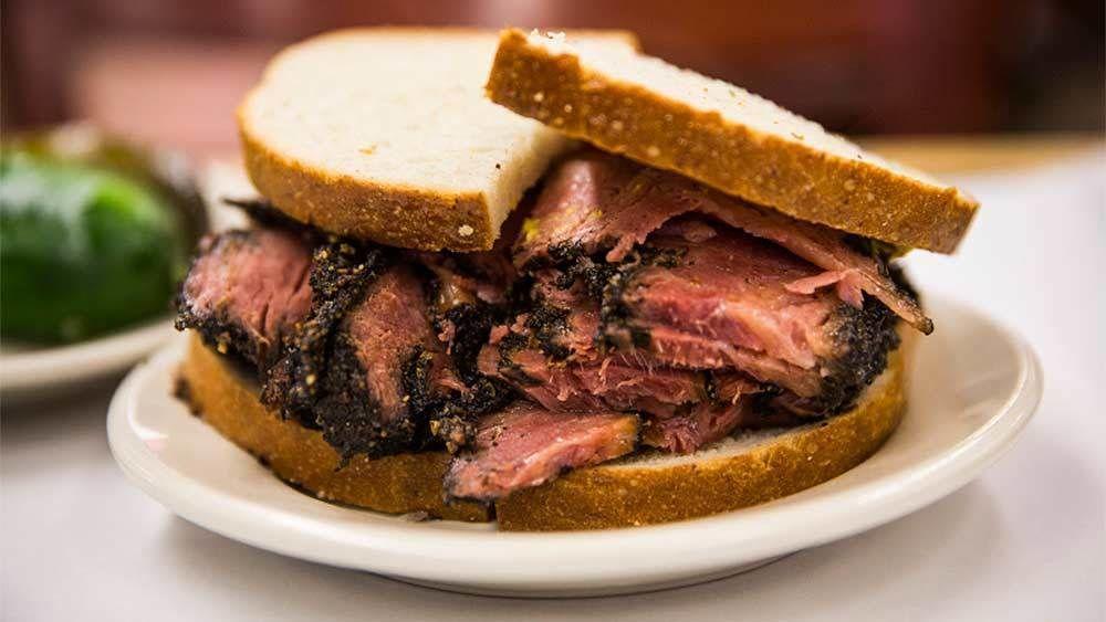 Roast beef sandwich in New York City