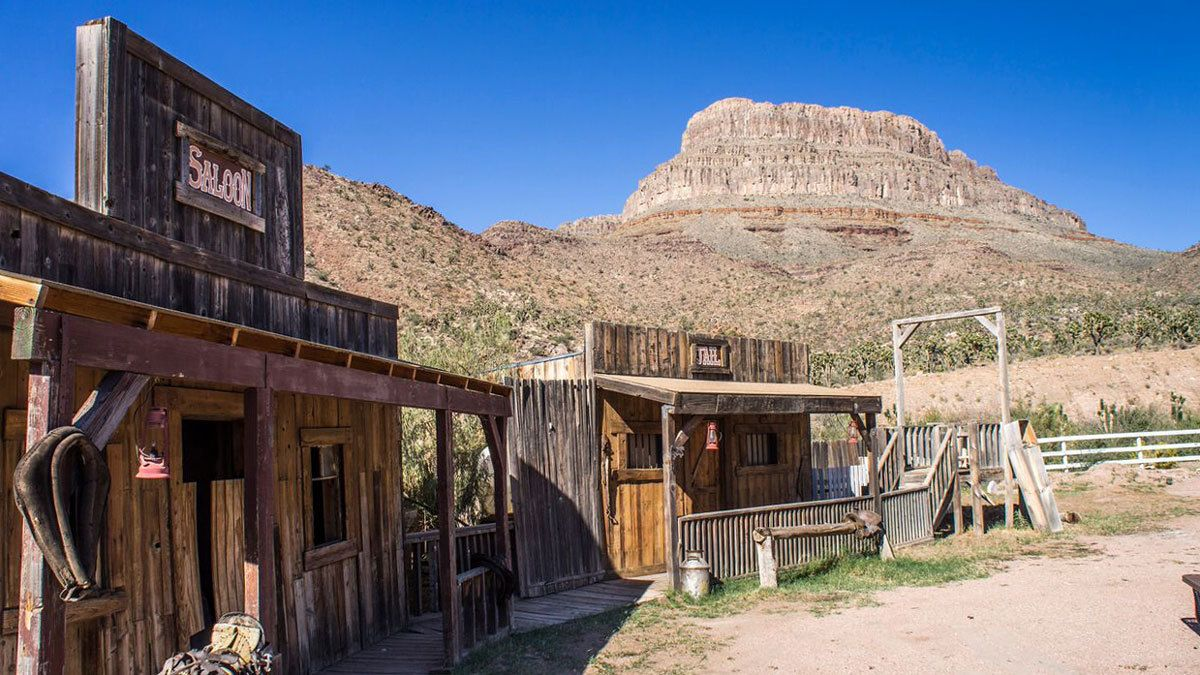 cowboy themed establishments at the ranch in the Grand Canyon