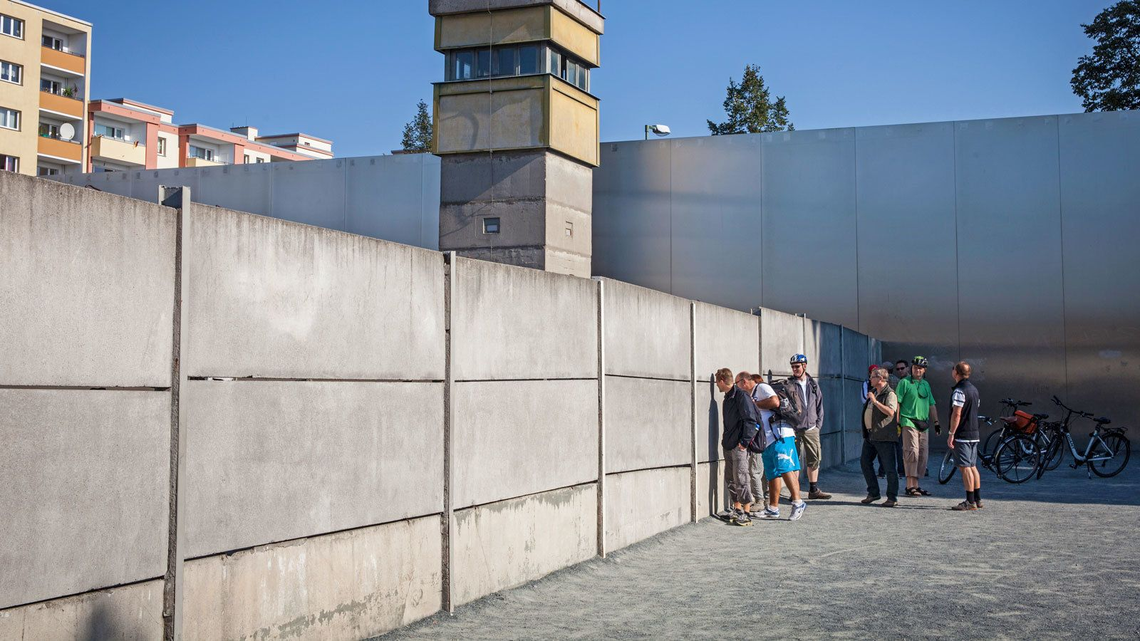 visit the former Berlin Wall in Germany