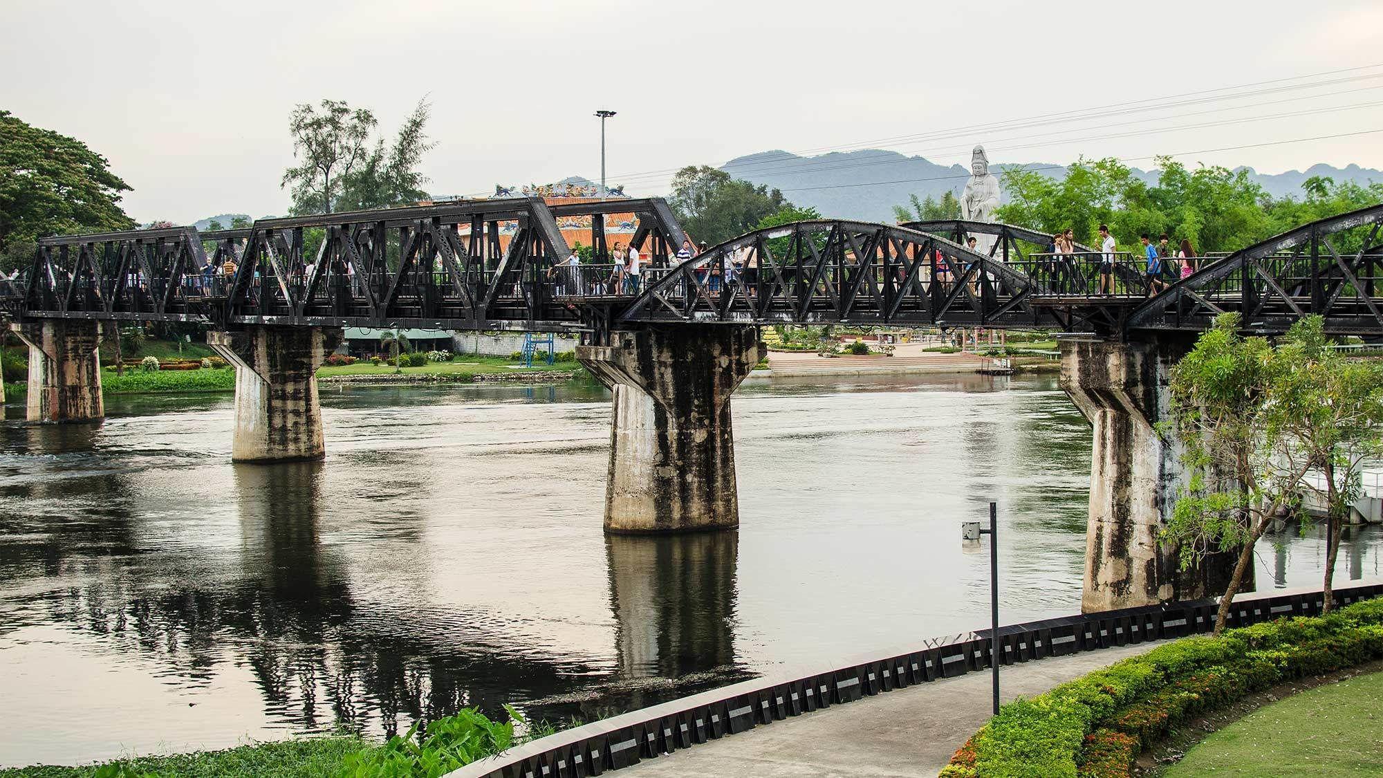 War Cemeteries, JEATH Museum & Bridge on the River Kwai Half-Day Tour