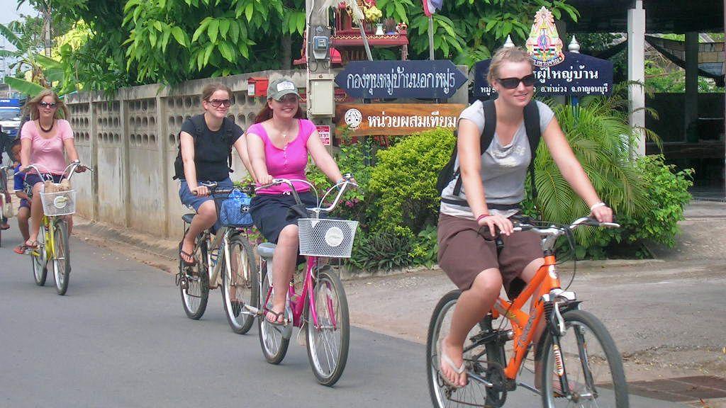 Half-Day Thai Village Biking Experience