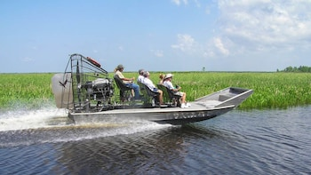 Swamp & Bayou Small Airboat Tour (7 to 13 passengers boat)