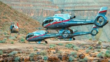 Visita en helicóptero de aventura al Gran Cañón con aterrizaje