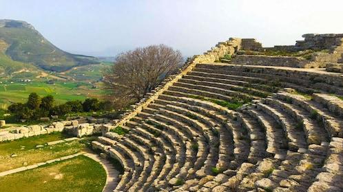 The Doric temple of Segesta.