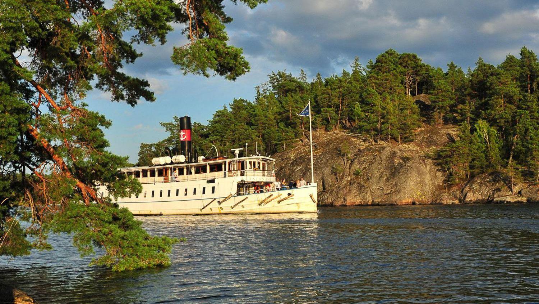 Bootstour zum Stockholmer Schärengarten