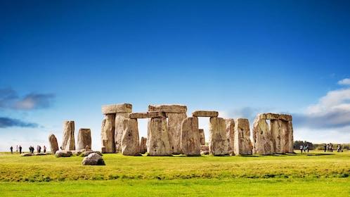 Stonehenge basking in the sunlight in London