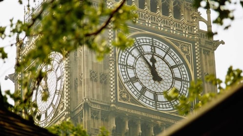 clock tower at the Big Ben in London