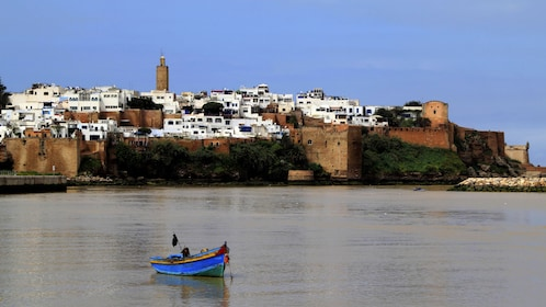 Rabat with a boat on the water