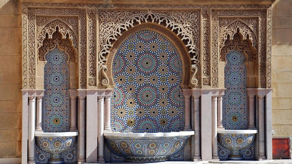 Charger l'élément 3 sur 5. Tiled mosaic in Rabat