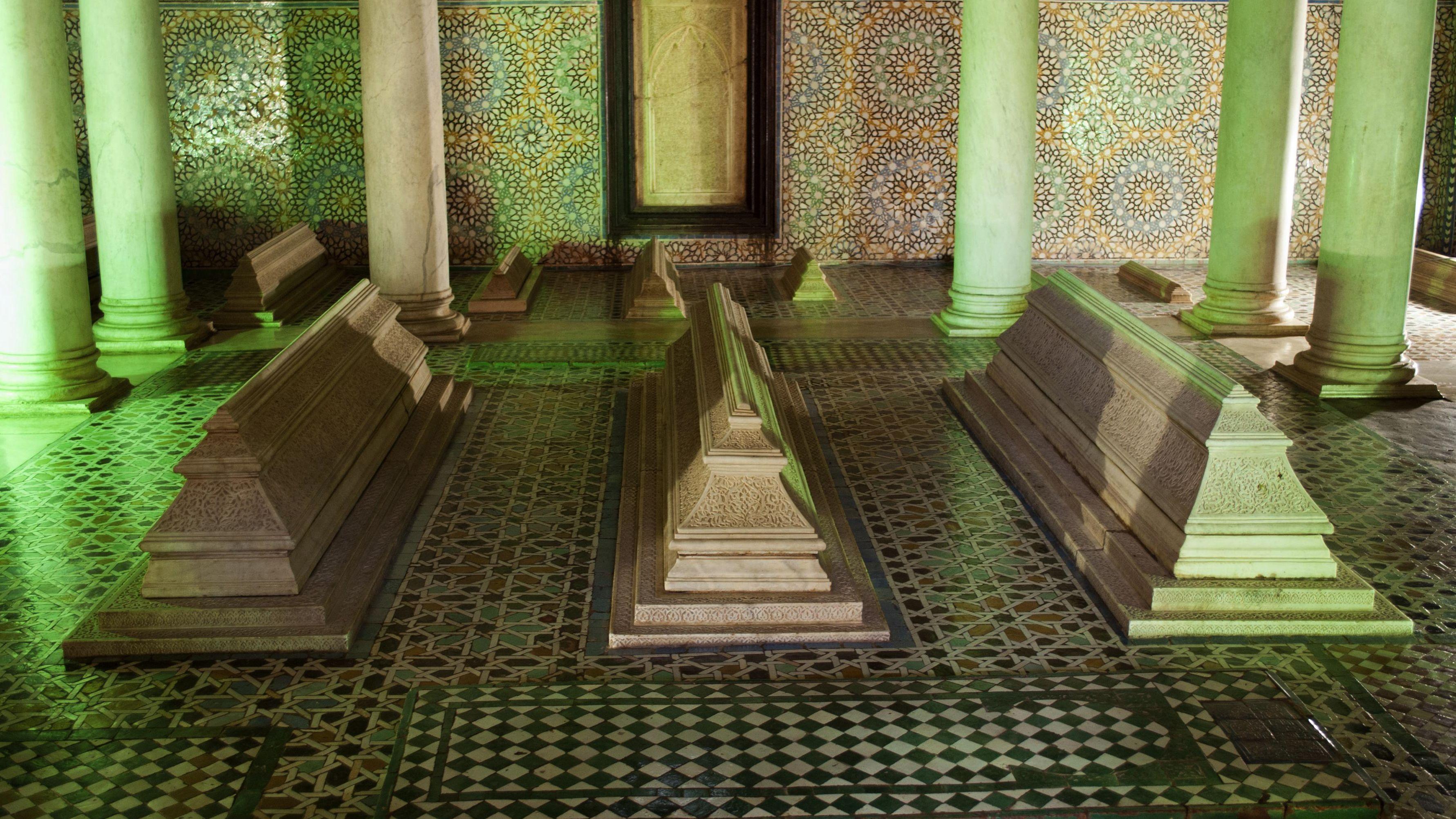 The Saadian tombs in Marrakech