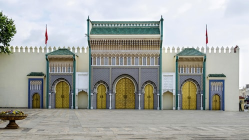 Royal Palace in Moroccan Fes
