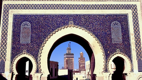 Blue Gate and Mosque