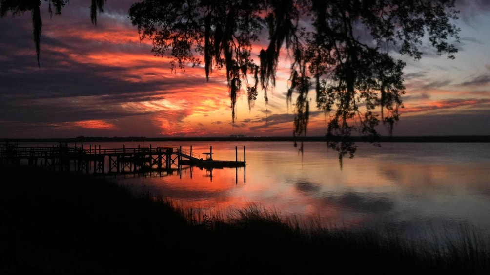 Show item 5 of 5. Sunset view of Hilton Head