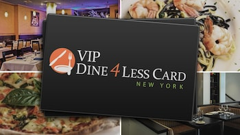 New York VIP Shop & Dine 4Less Card - 90 Day Unlimited Use